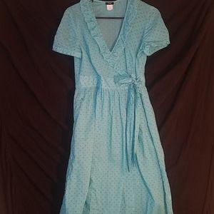 Turquoise Wrap Dress J Crew